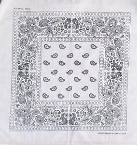 Paisley Bandana 100/% Cotton Head band scarf Dog Neck Tie Wrist Wrap UK