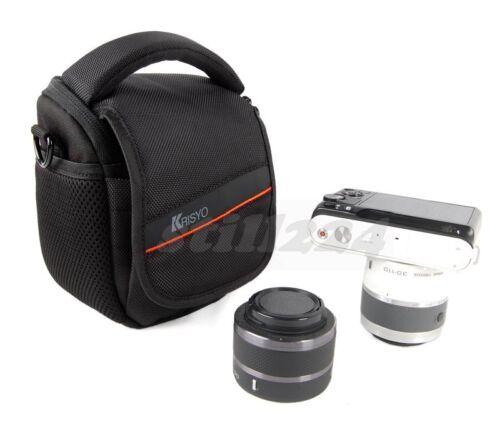 Fuji FinePix JZ700 Camera Bag Shoulder Strap Memory Card Mobile Card Pocket