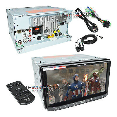"Pioneer AVH-X4600BT Double DIN DVD/CD/MP3 7"" LCD Bluetooth MirrorLink Receiver"