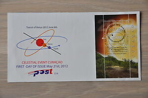 CURACAO-2012-FDC-018-TRANSIT-OF-VENUS-ZONSVERDUISTERING-MNH-POSTFRIS
