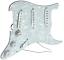 Pickguard Loaded Stratocaster Sss Standard Pearl Weiß für Gitarre Strat Neu
