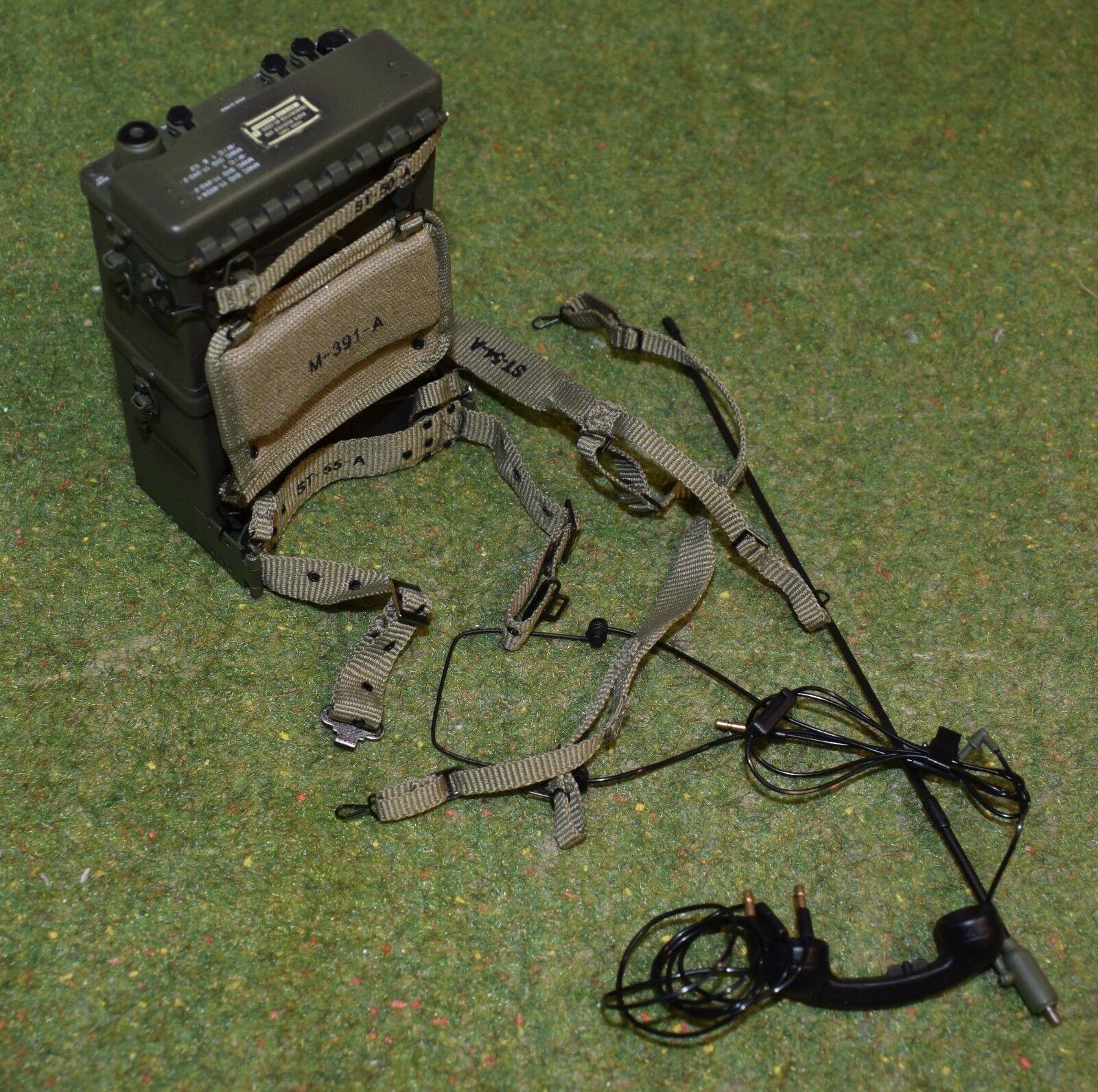 Dragon in Dreams ha SCALA  1 6 US WW II Paul Esercito Americano in Mettuttio Radio & Gear  Ritorno di 10 giorni