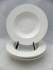 "Mikasa Italian Countryside - Set/lot of 4 Rim Soup dishes, DD900 - 9 3/8"" - EUC"