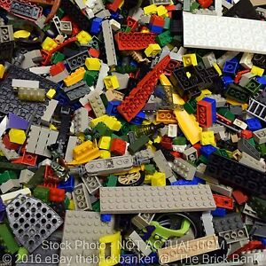 LEGO COMPATIBLE 2lb Bulk Pound Lot-SANITIZED-PAIRS MATCHED-Brick Piece Part Rand