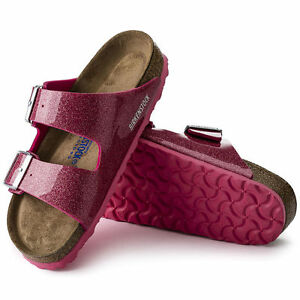 BIRKENSTOCK ARIZONA PLANTARE MORBIDO Sandali stretto magic galaxy luminoso rosa