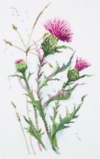 "Counted Cross Stitch Kit PANNA - ""Thistle"""