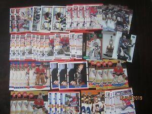 Huge-Lot-of-50-Patrick-Roy-Hockey-Cards-Avalanche