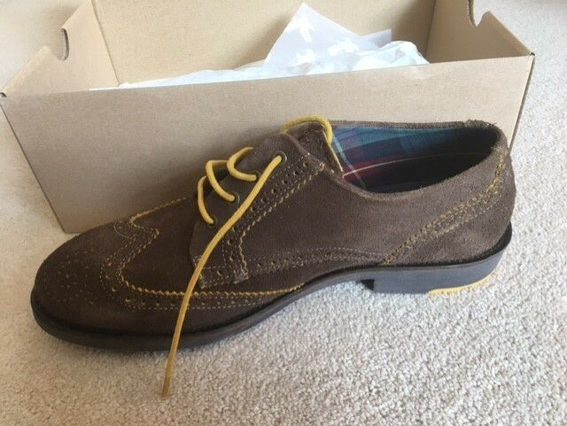 Lyle & Scott mens suede shoes size 10 was £100 new with box
