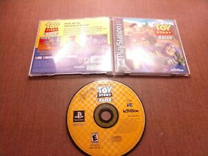 Sony-PlayStation-1-PS1-PSOne-CIB-Complete-Tested-Toy-Story-Racer-Ships-Fast