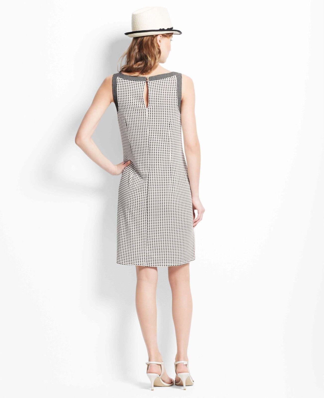 NWT Ann Ann Ann Taylor Petite Geo Rope Shift Dress XSP 008cda
