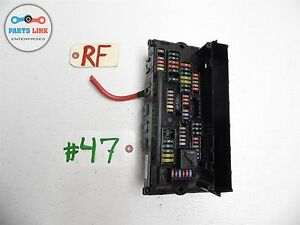 image is loading 09-bmw-f02-lwb-750li-750-fuse-box-