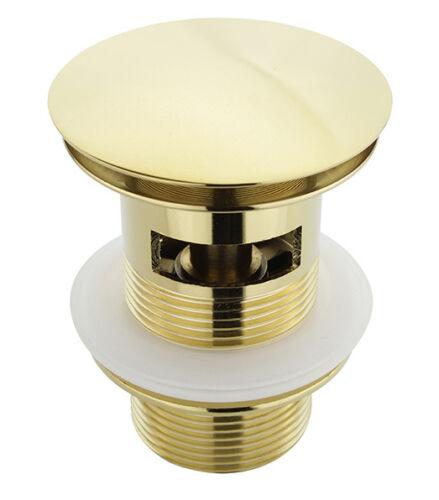 ATCO® Pop-Up Ablaufventil Push-Up Ablaufgarnitur Waschbecken mit Überlauf Farben
