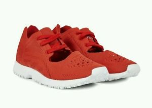 new style 22c34 add76 Details zu Adidas Originals Eqt Rennsport Og Prime Strick Schuhe Damen Rot  S75173 Sz 5.5