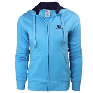 Salomon-fz-sweat-a-capuche-femme-veste-a-capuche-bleu-sweat-neuf-taille-xs