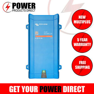 100% True Victron Multiplus 12v 800va 35a Inverter Charger 12/800/35 *new* And Digestion Helping Chargers & Inverters
