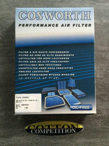 Cosworth filtre à air 20002282 pour subaru brz /& toyota GT86