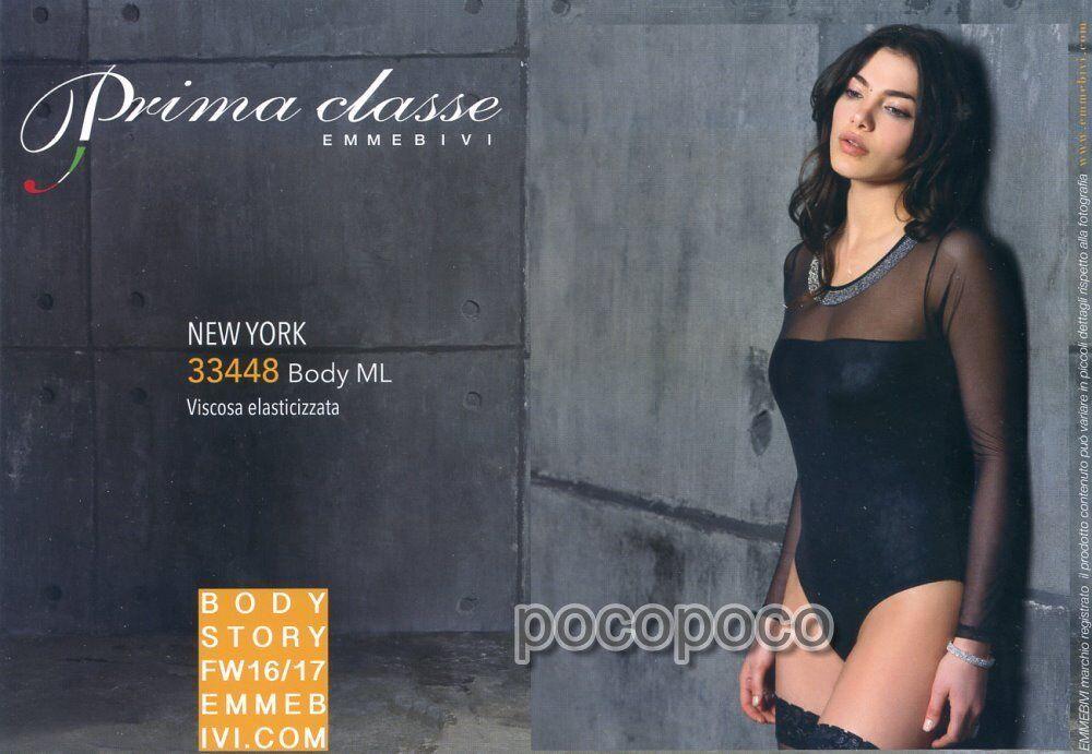BODY WOMAN LONG SLEEVE VISCOSE EMMEBIVI ART. 33448