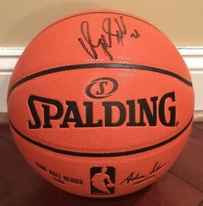 259654619ea0 Image is loading Dominique-Wilkins-Autographed-Spalding-Official-NBA-Replica -Basketball-