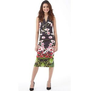 a9b9428329f New Ted Baker Mirrored Tropical Jalita dress TB0, UK6-8 RRP 205€ | eBay