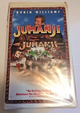 Jumanji (VHS, 1996, Closed Captioned Clam Shell Case)