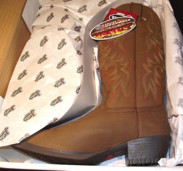 Justin Boots-mens Men Justin Cowboy Boots Sz 12b Brown Boots