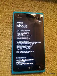 Used Nokia Lumia 900 16GB - Blue (Unlocked) Smartphone AT&T