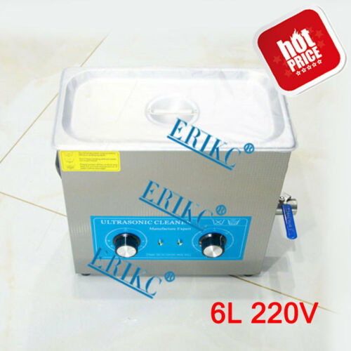ERIKC Diesel Injection Nozzle Cleaner Kit Ultrasonic Injector Cleaning Machine