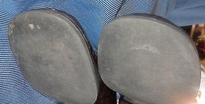 Ladina von der Goltz Halbschuhe Loafer Glanz Leder Gr 38,5 Made in Italy