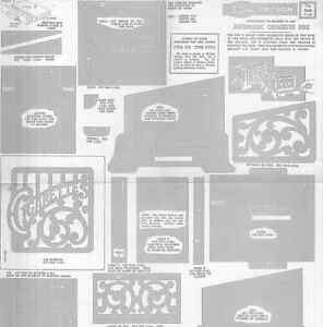 Disegno Drawings Fretwork Hobbies Design Tav 2688 1947 Scatola