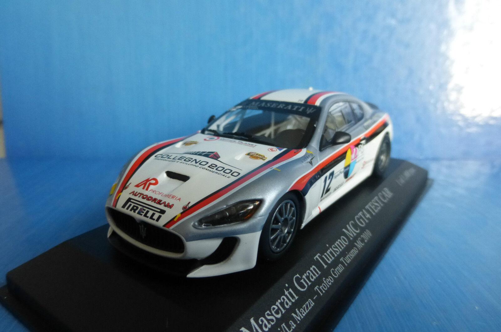 MASERATI GRAN TURISMO MC GT4  12 TEST CAR SPERATI LA MAZZA TROFEO 2010 MINICHAMP