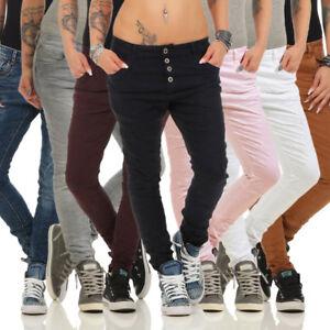 3627ac1ecf0ccb Das Bild wird geladen 10118-Knackige-LEXXURY-Damen-Jeans-Roehrenjeans-Hose -Boyfriend-