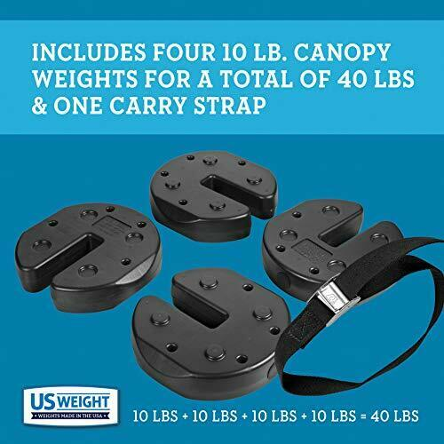 US Weight Tailgater Canopy Weights – 20 lb