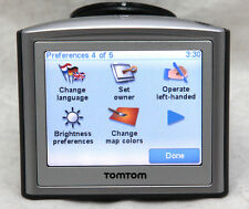 TomTom One GPS Navigation With 2016 Australia, UK, Ireland Turkey & France Maps