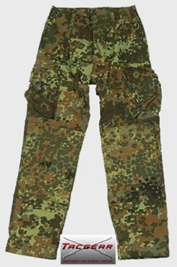 TACGEAR Bundeswehr Flecktarn Kommando KSK German Army pants Hose Feldhose Medium