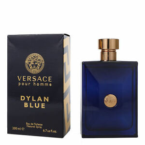 Versace Dylan Blue for Men Eau De Toilette 6.7 Oz 200ml Spray   eBay 1e46a960242