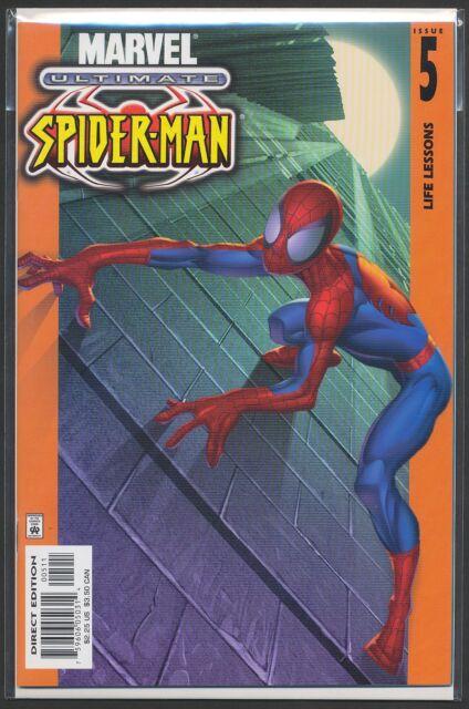 ULTIMATE SPIDER-MAN #5 1st print