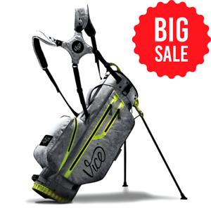 Vice Golf Force Stand Bag - GREY/Neon Lime NEW- BIG SALE