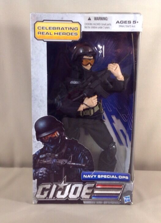 Hasbro G.i. Joe Navy Special Ops celcbrating Real Heroes