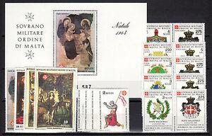 SMOM-1984-Annata-Completa-MNH