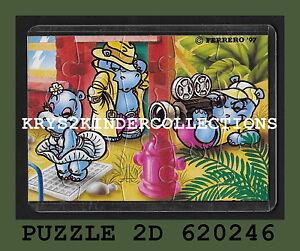 Jouet kinder puzzle 2D Hippo Hollywood star 620246 Allemagne 1997 + étui +BPZ 7BmyCCQv-09165320-960567998