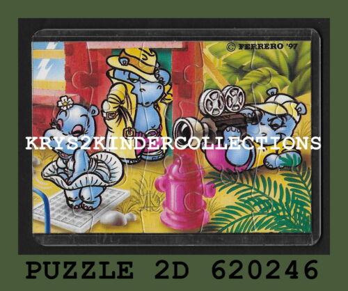 BPZ Jouet kinder Puzzle IST DIE KATZE AUS DEM HAUS 705100 Allemagn 2002 étui