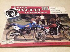 Revue moto technique Suzuki DR 125 S Honda XLV 750 R ETAI N° 62 éd: 95 XLV750