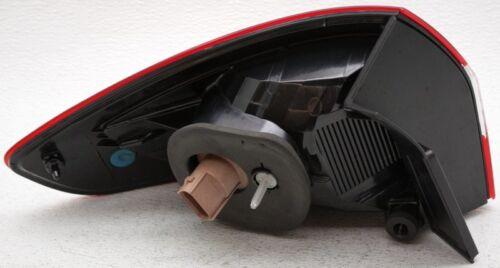 OEM Ford Fiesta Sedan Right Passenger Side Halogen Tail Lamp Lens Crack