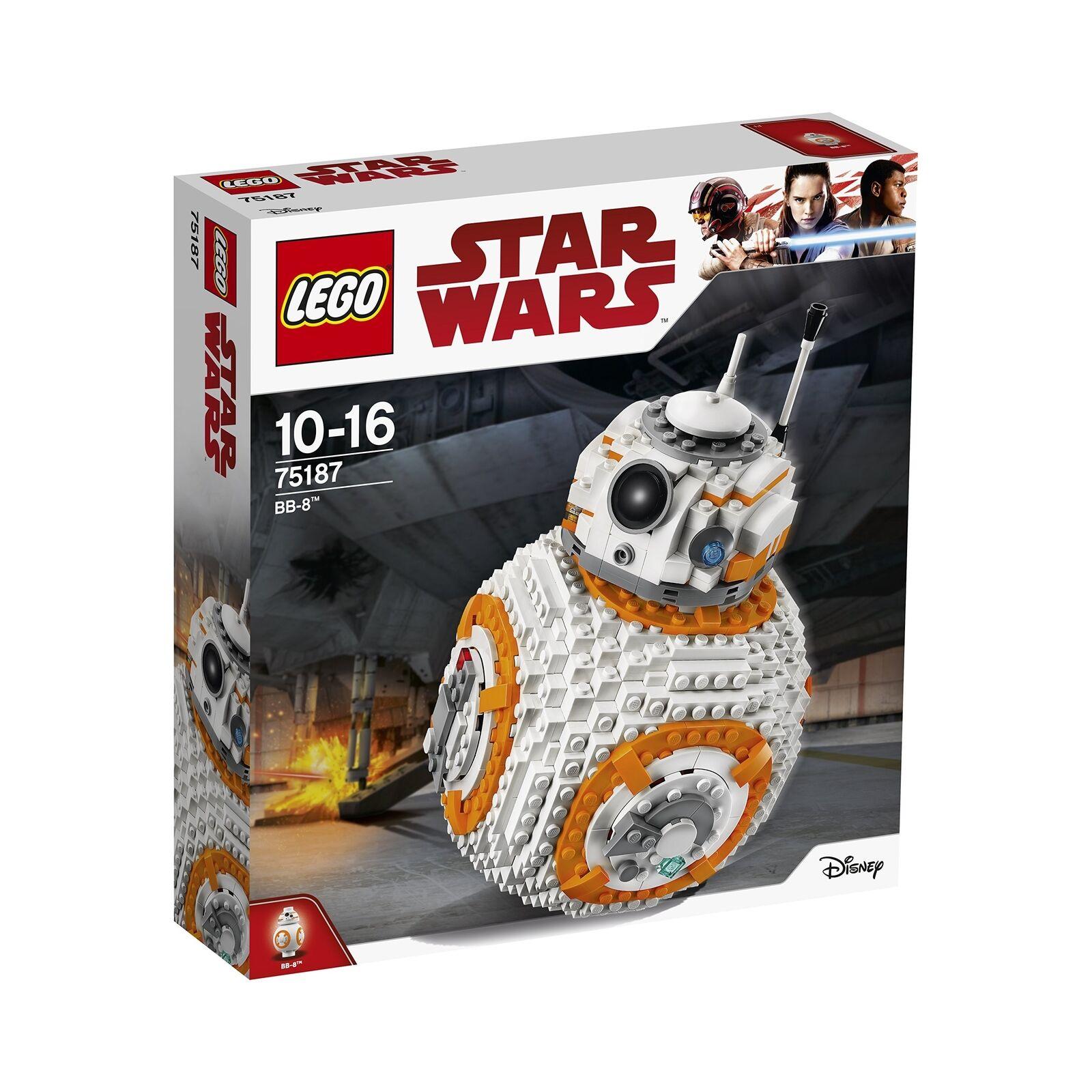 LEGO 75187 Star Wars Jedi l'ultimo BB-8 Robot giocattolo, COLLECTOR'S MODELLO Buildi .