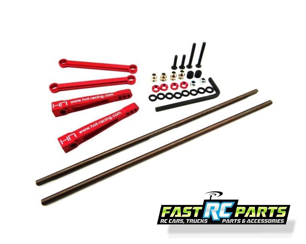 Hot Racing Axial 1 8 Yeti XL Aluminum Rear Anti-Sway Anti-Sway Anti-Sway Bar Set YEX311R d67fed