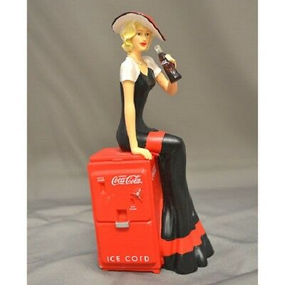 Blossoming Perfection Lady Figurine - Coke Beauties of the 1940's Coca Cola