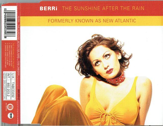 "BERRI - 5"" CD - The Sunshine After The Rain (Two Cowboys & Dancin' Divas Mixes)"