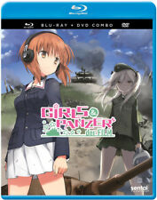 Girls  Panzer der Film (Blu-ray/DVD, 2017, 2-Disc Set)