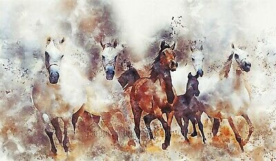 Horses Playful Foals by Wright Barker Counted Cross Stitch Pattern