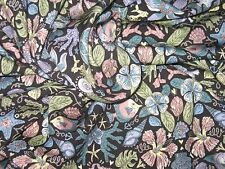 Liberty of London Art Stretch Fabric Wardour Jersey Turtle Thief Fabric SS 2017